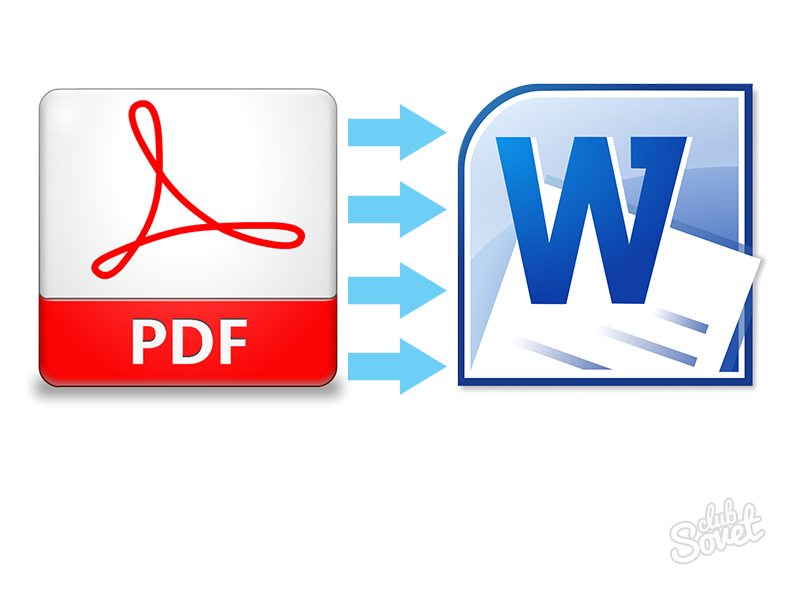 Как сделать из документа word документ pdf