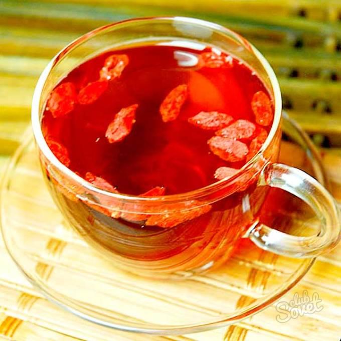 Ягода годжи в чай