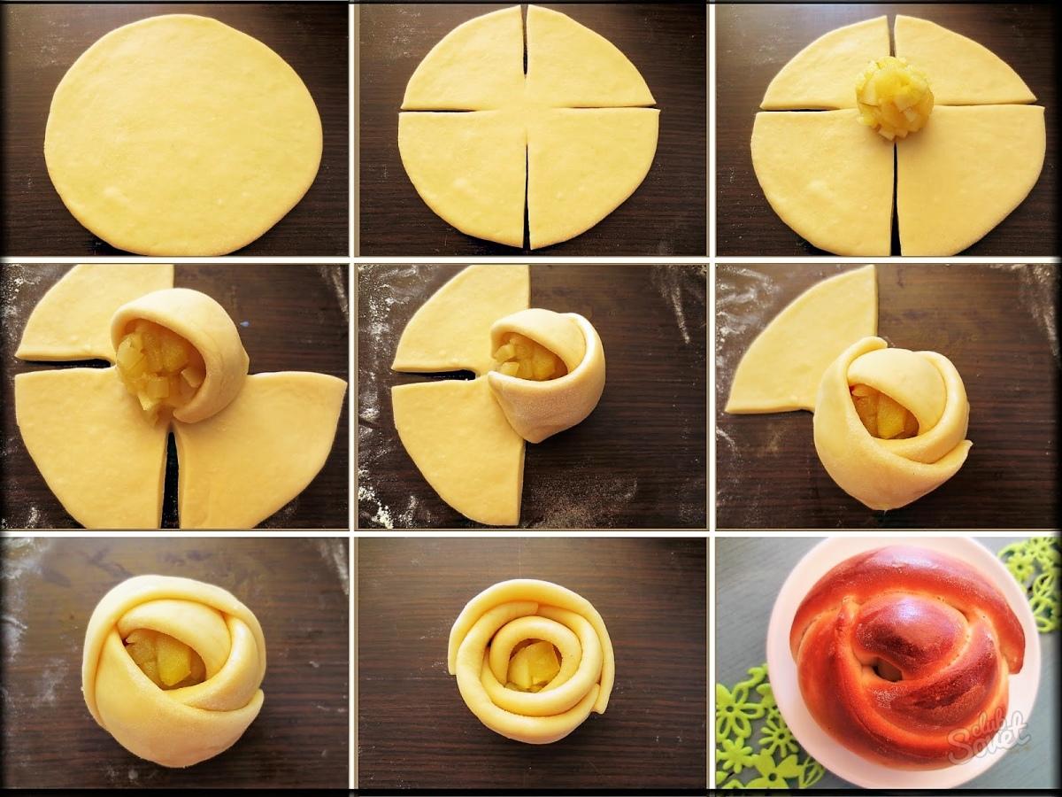 Как правильно приготовить булочку с