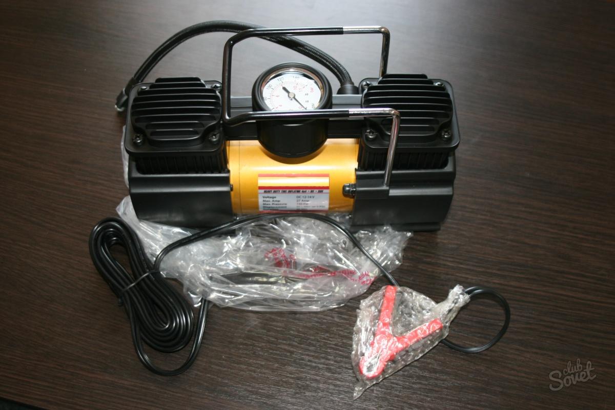 Как сделать автомобильный компрессор