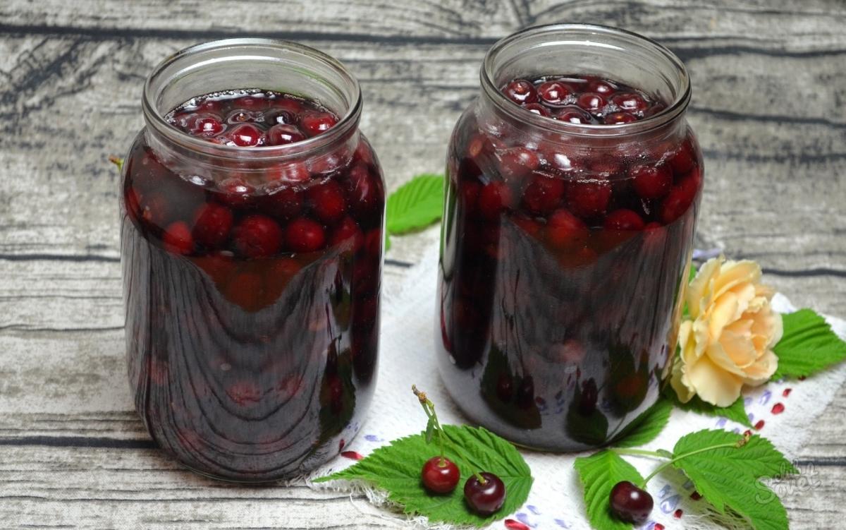 Вишневый сок на зиму рецепт