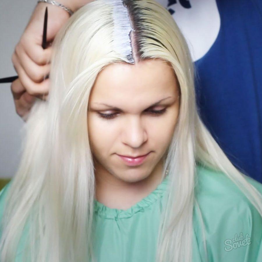 Чем обесцветить корни волос в домашних условиях