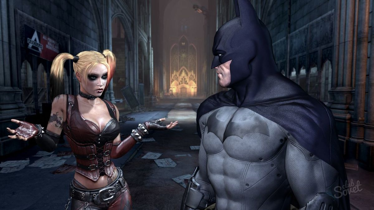 Arkham city cutscenes with nude girl mod pron movies