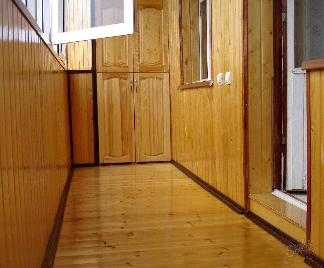 Чем обшить балкон изнутри: варианты внутренней отделки.