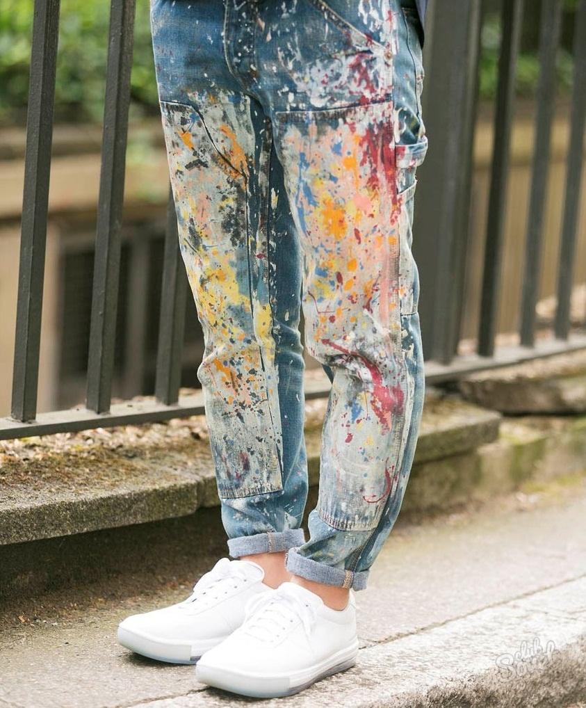 Чем покрасить шорты в домашних условиях 922