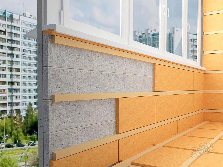 Утепление балкона пеноплекс пенофол пеноблок.