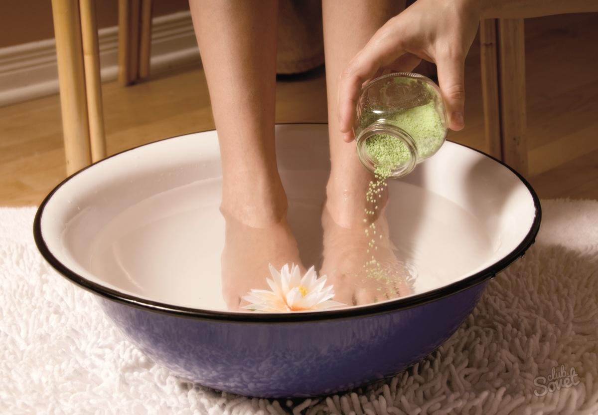 Избавиться от запаха пота на ногах в домашних условиях
