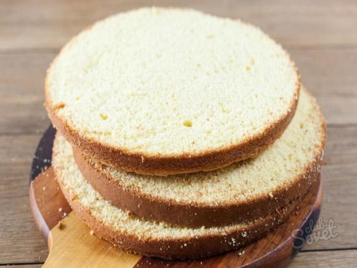 Как сделать коржи торта ровными 769
