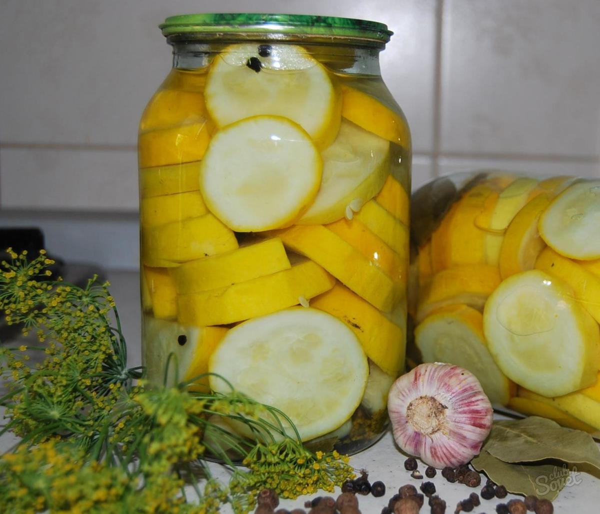 Маринованные хрустящие кабачки на зиму рецепт
