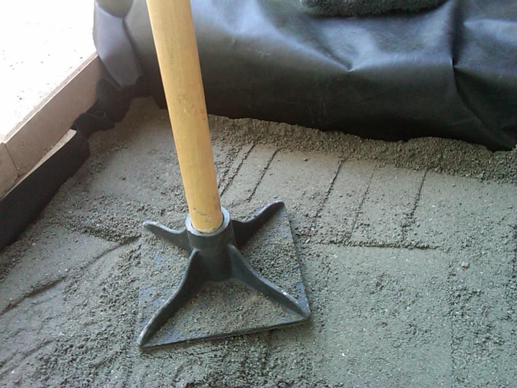 Укладка тротуарной плитки своими руками на песок или отсев