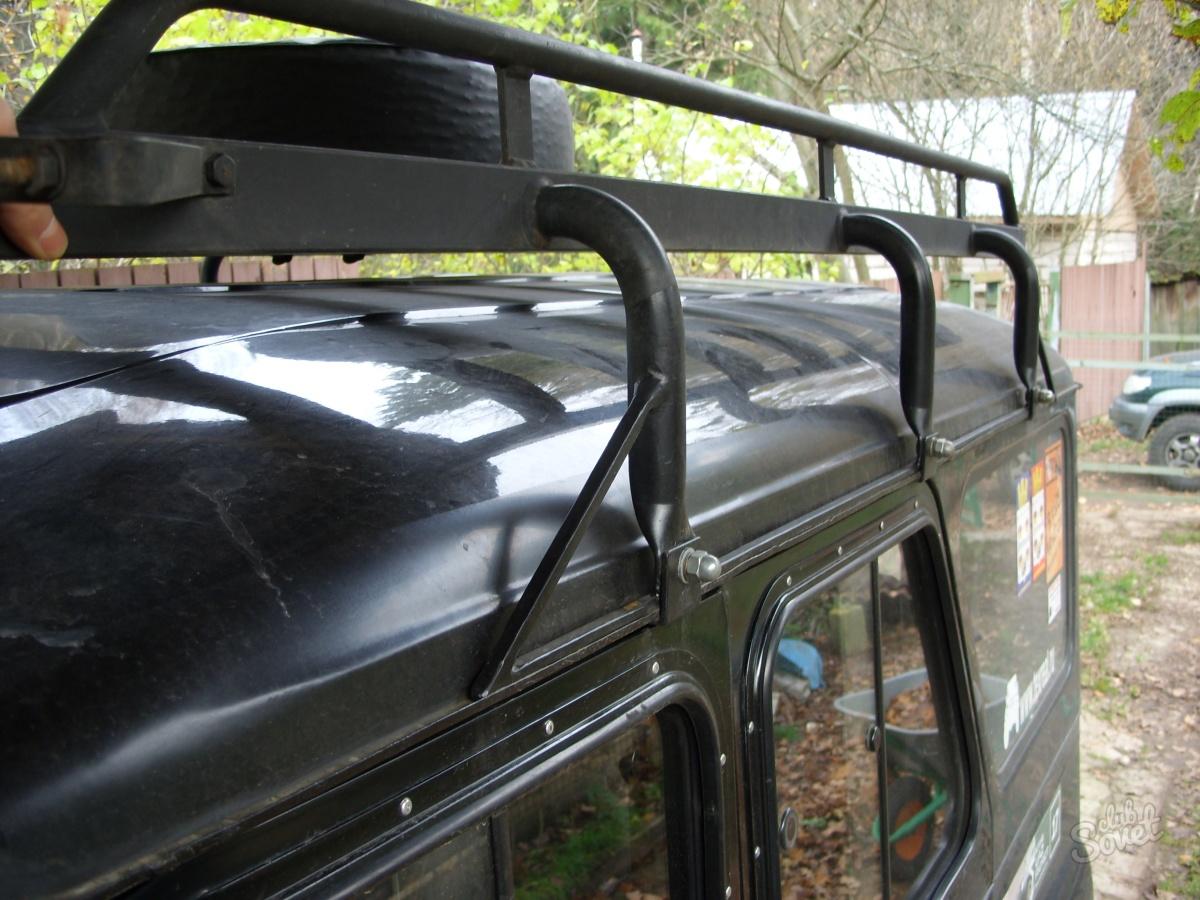 Багажник на уаз хантер своими руками фото