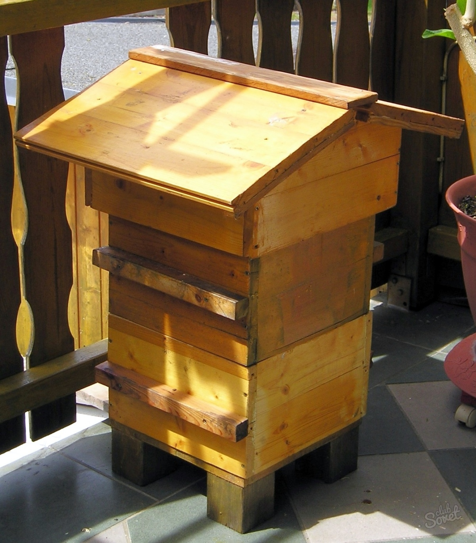 Улья для пчел своими руками