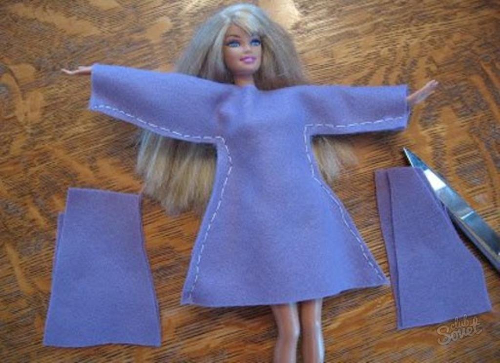 Как сшить платье кукле своими руками для начинающих