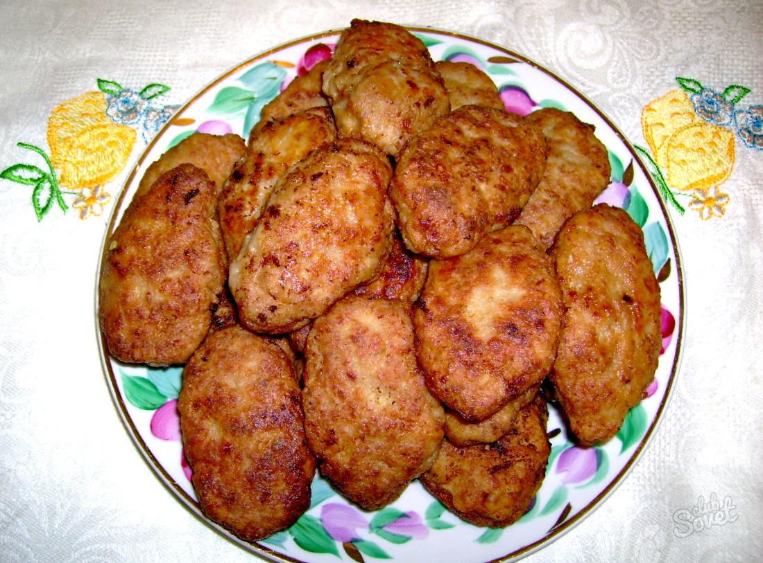 Котлеты из свиного фарша рецепт с начинкой