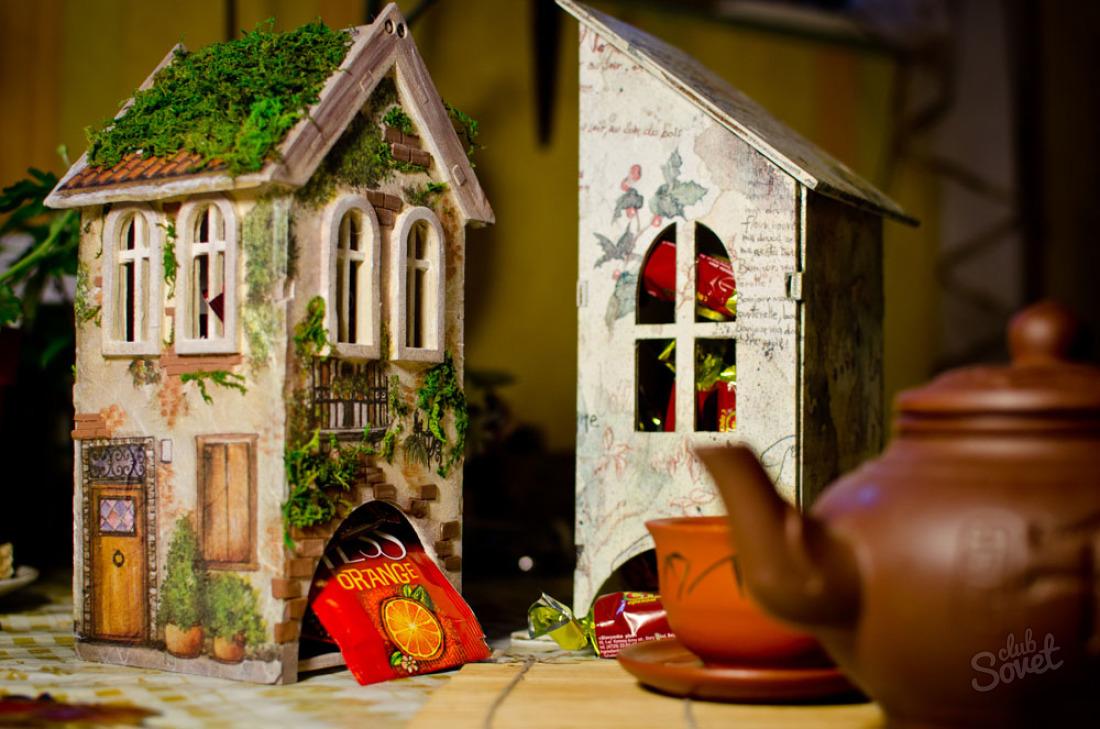 Красивый чайный домик своими руками 64