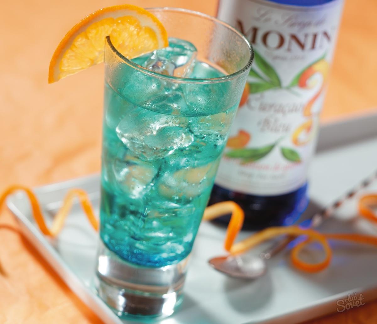 Как сделать коктейль голубая лагуна, рецепт - Рецепты - Wday 68