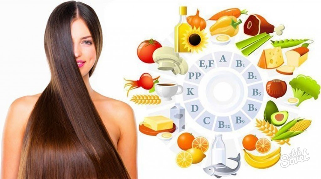 Какие фрукты и овощи для волос