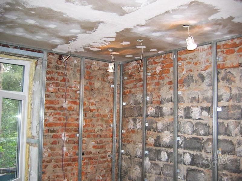 Обшивка стен гипсокартоном своими руками - делаем ремонт.