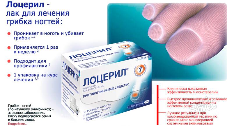 Лечение грибка ногтя с