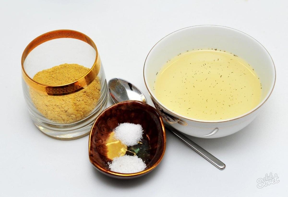 Как сделать медово горчичный