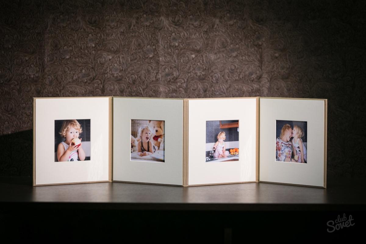 Как сделать паспарту для фото