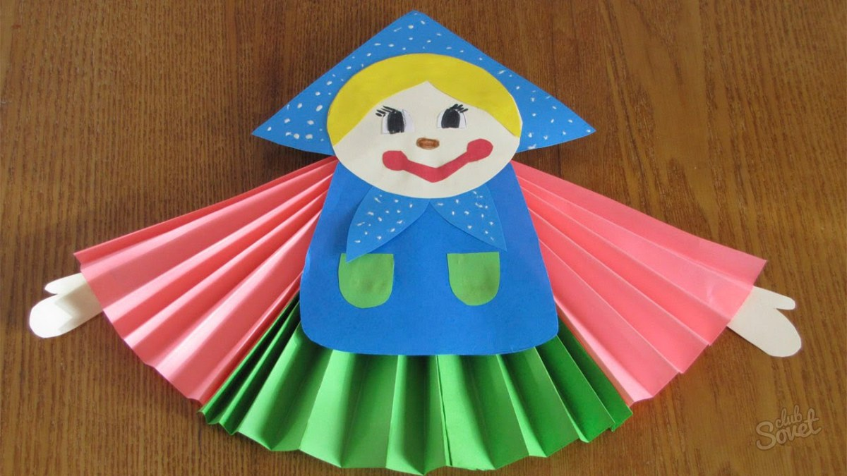 Детские поделки из бумаги своими руками для в
