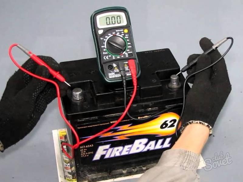 как правильно измерить заряд аккумулятора РУК РУКИ
