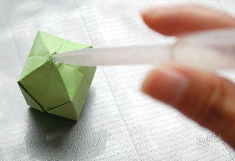 Как сделать бомбочку из бумаги с мукой
