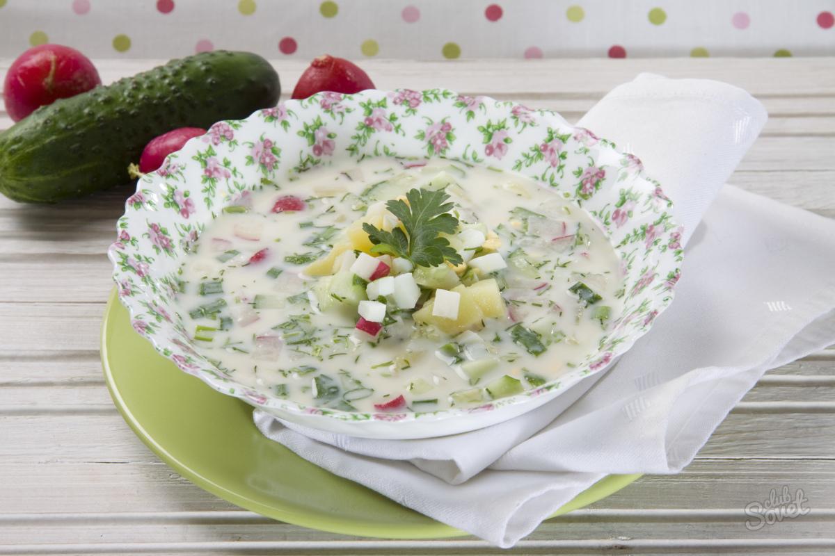 Окрошка украинская рецепт