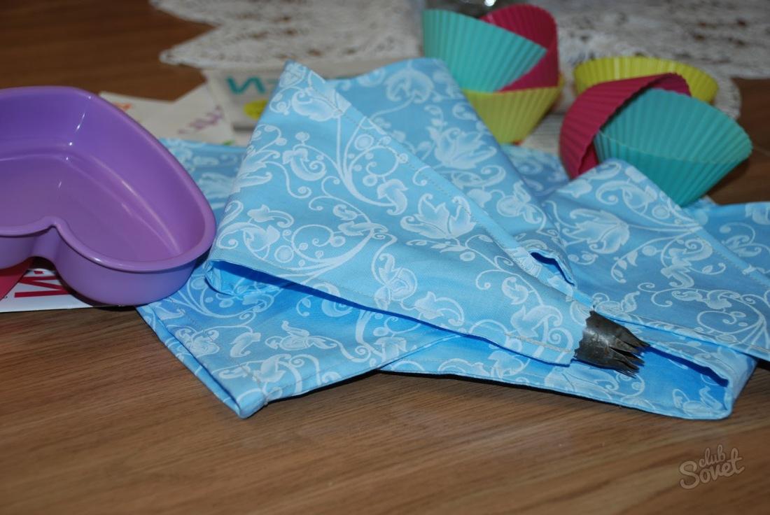 Сделать кондитерский мешок в домашних условиях фото