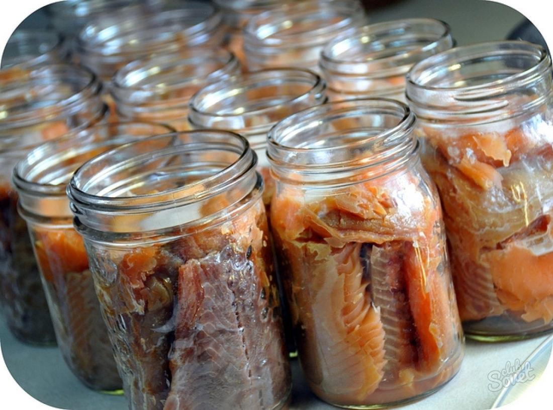 Консервы с рыбы в домашних условиях с