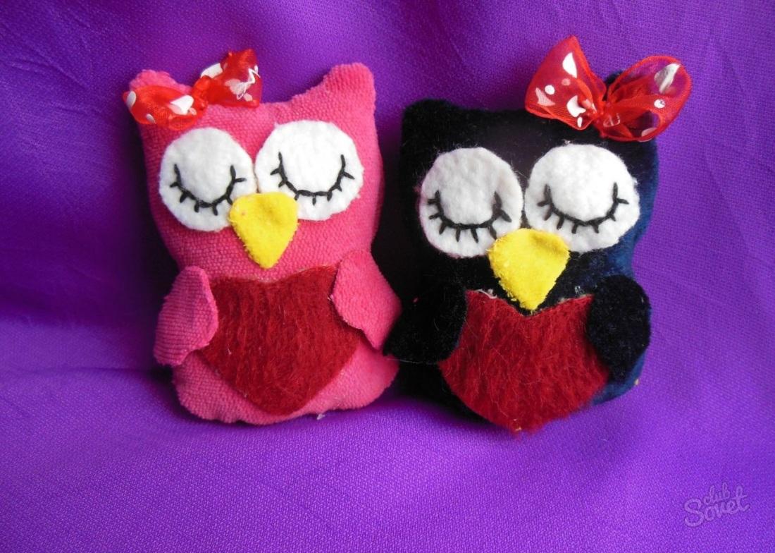 Мягкие игрушки своими руками сову из