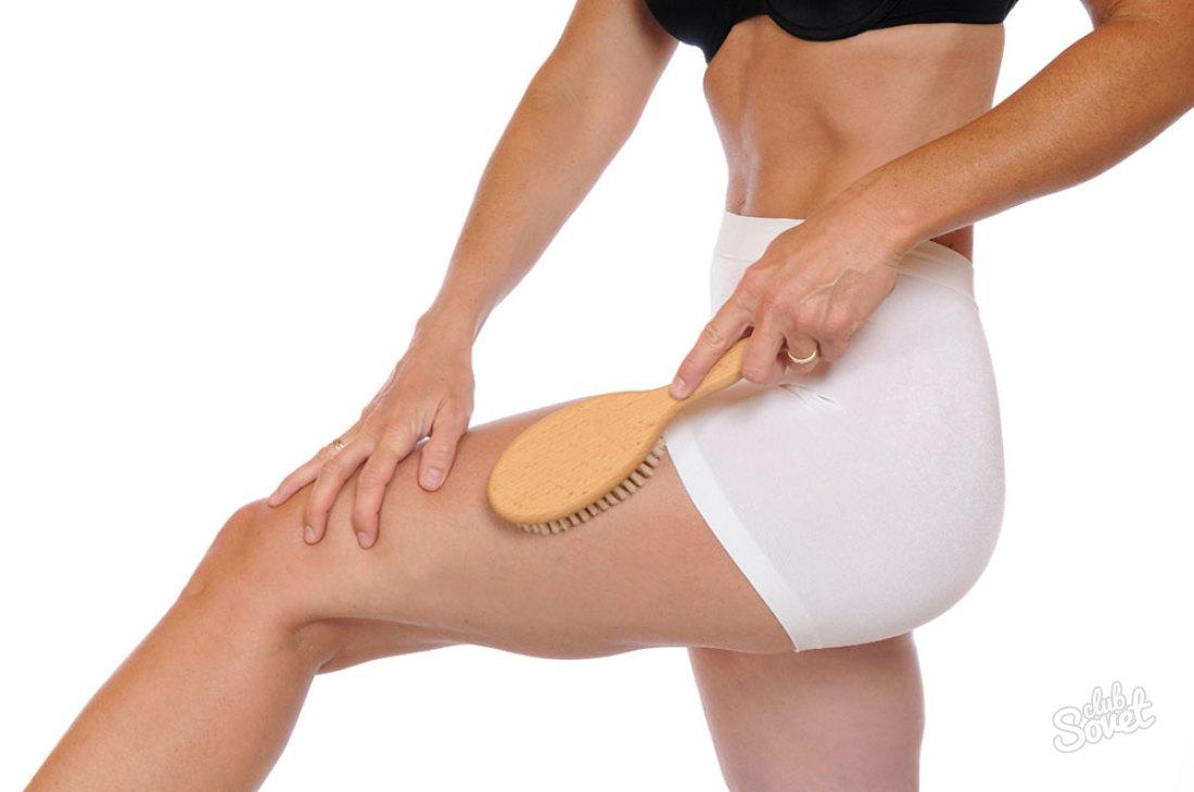 Массаж для ног от целлюлита в домашних условиях