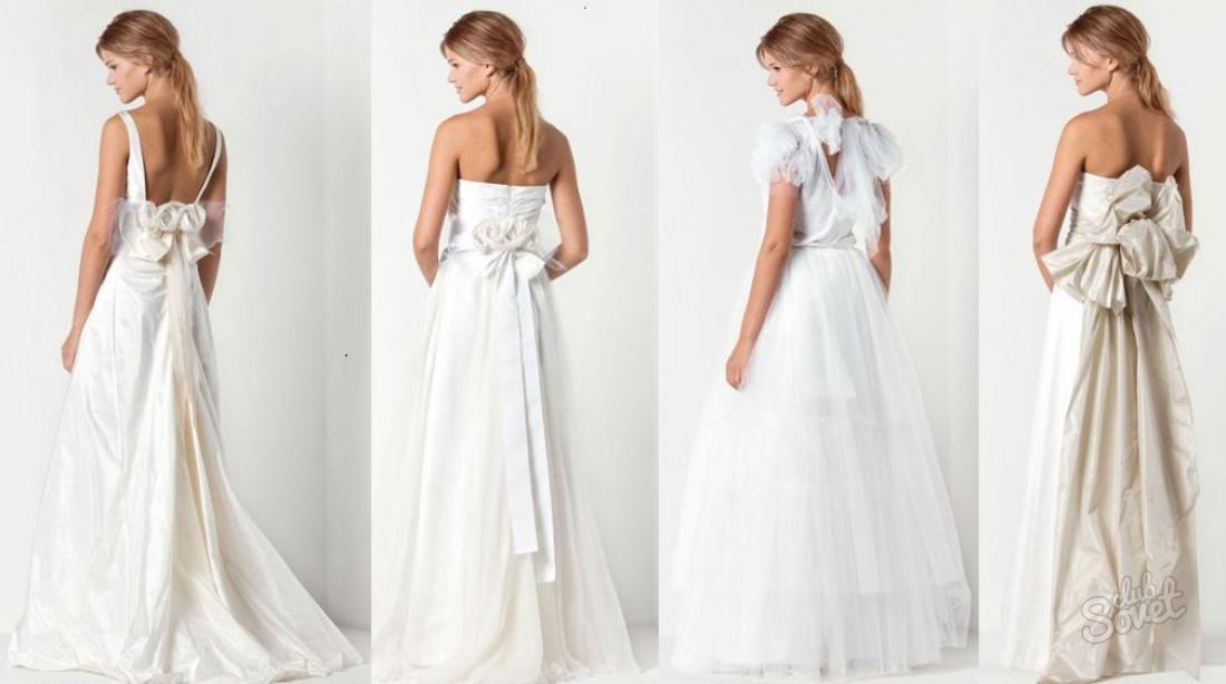 Как завязать бант на платье на