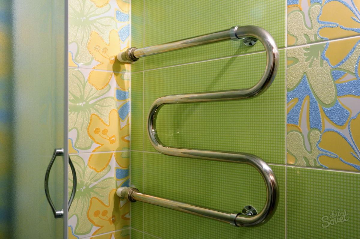 Замена полотенцесушителя в ванной своими руками
