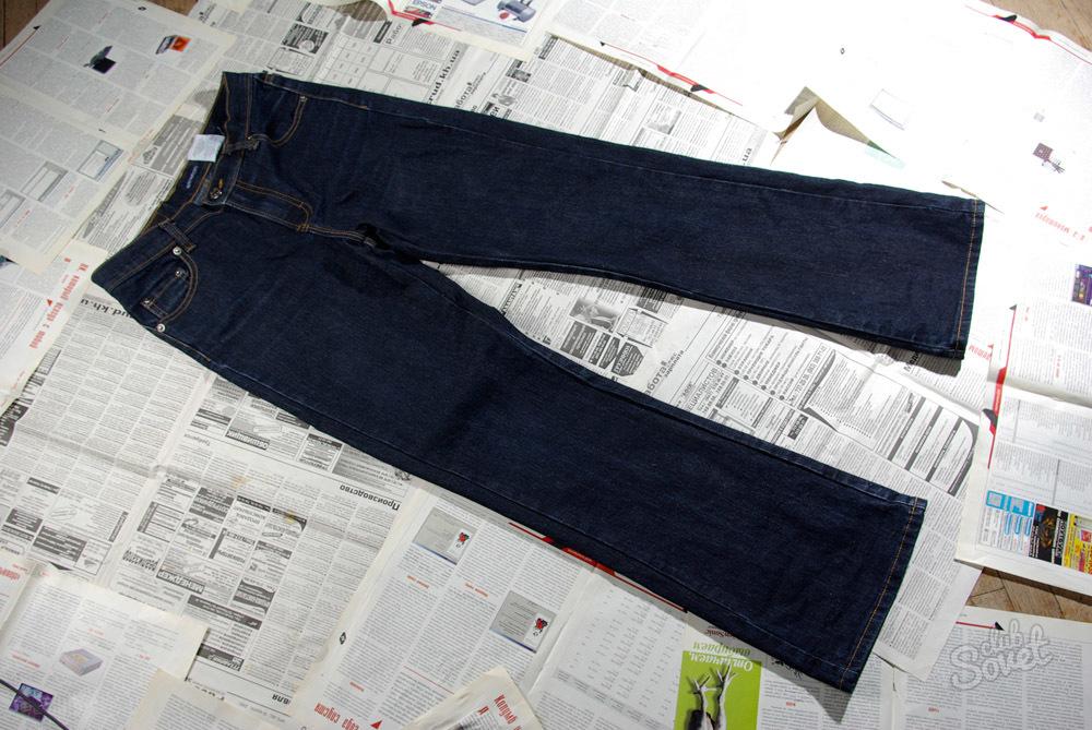 Чем покрасить льняные брюки в домашних условиях 11