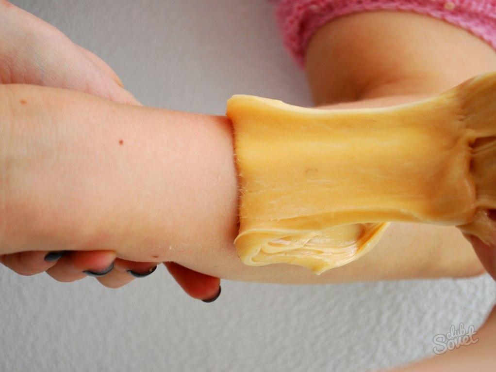 Депиляция рук как сделать