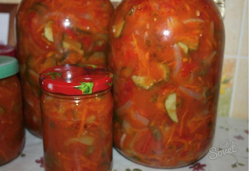 Салат на зиму из помидоров и моркови рецепты с