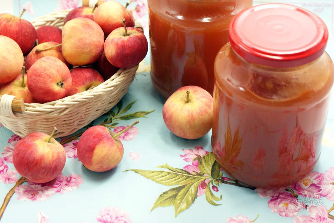Заготовки из яблок на зимуы