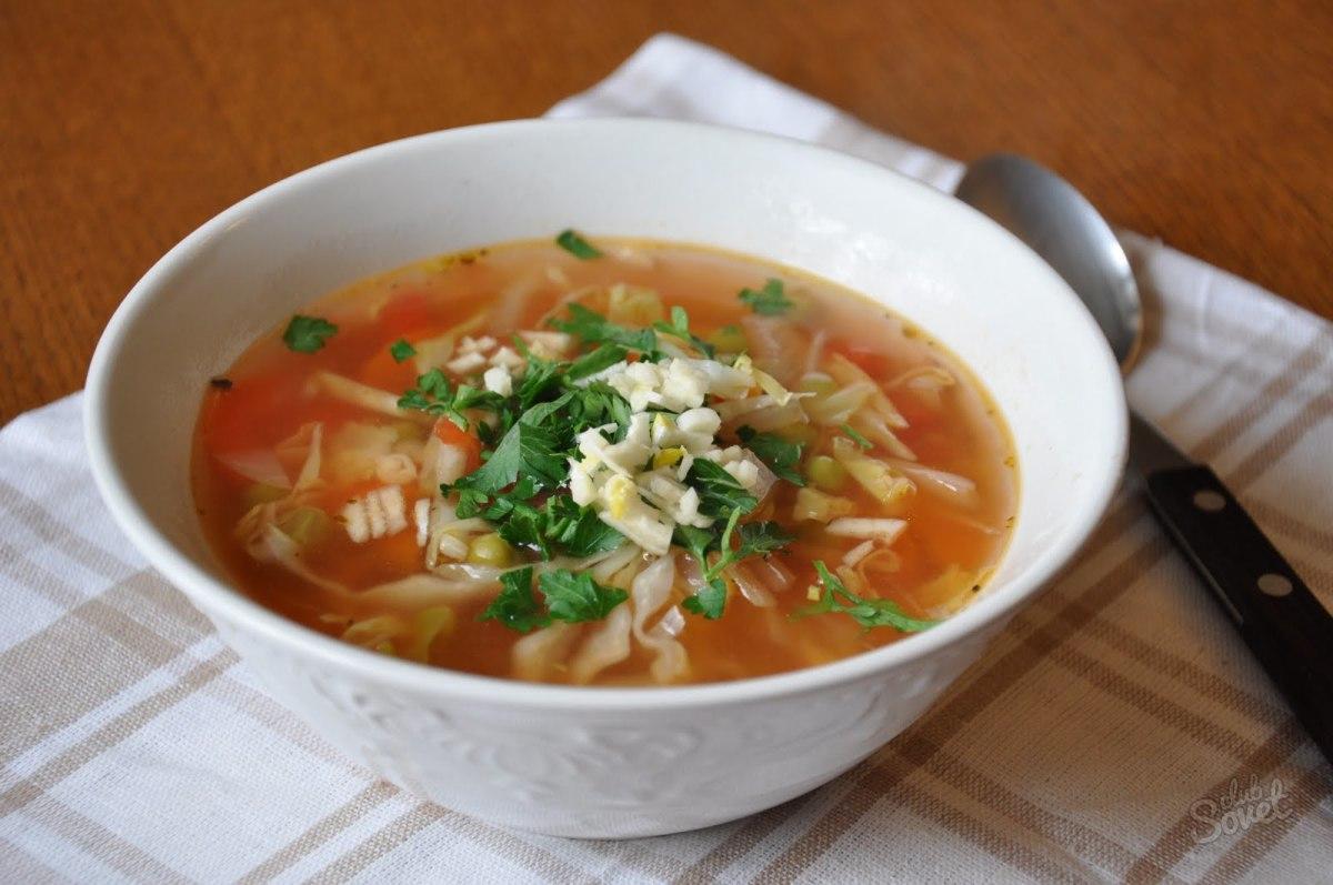 Щи из свежей капусты пошаговый рецепт без мяса