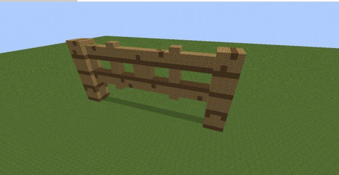 Как создать калитку в minecraft