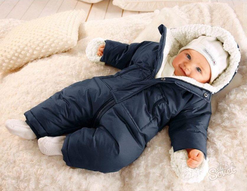 В чего зимой одевать на улицу грудничка
