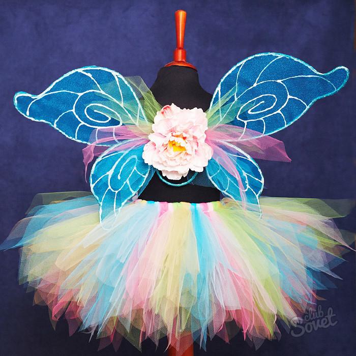 Как сделать крылья бабочки на новый год