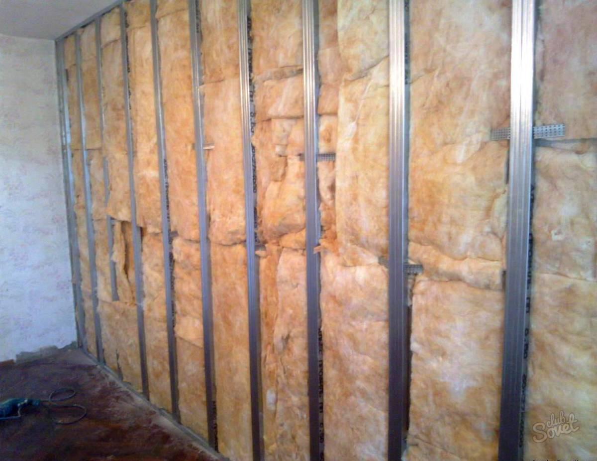 Звукоизоляция стены своими руками материалы