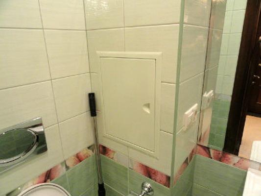 Короб для труб ванной комнаты своими руками