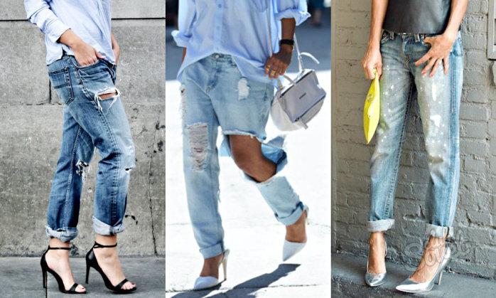 Как можно самой порезать джинсы
