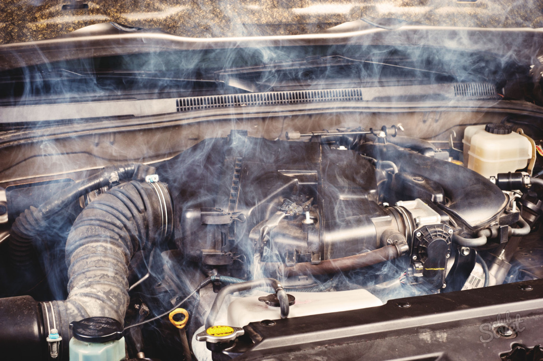 Закипел двигатель зимой что делать