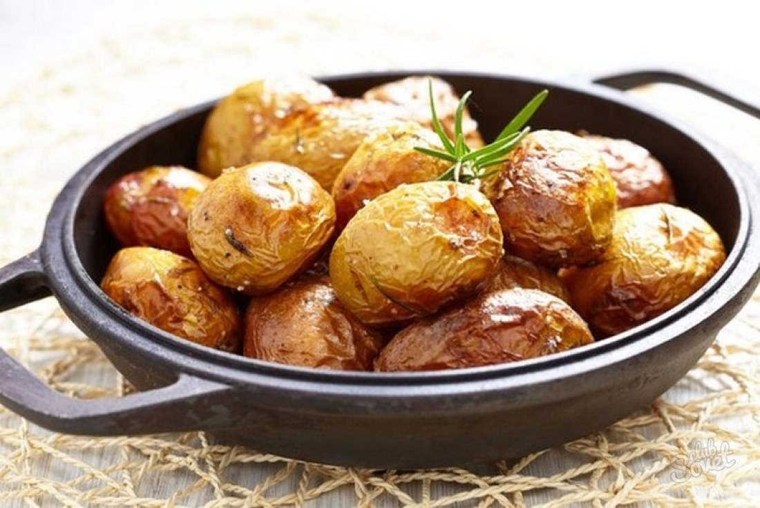 Почему жареная картошка получается сухой
