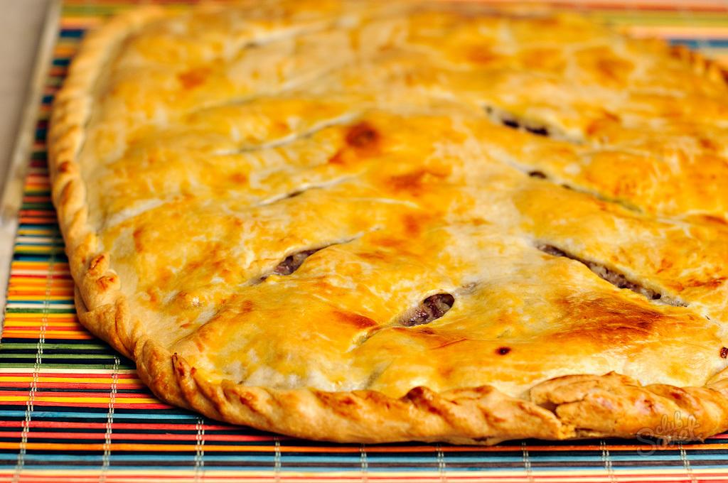 Мясные пироги рецепты с в духовке
