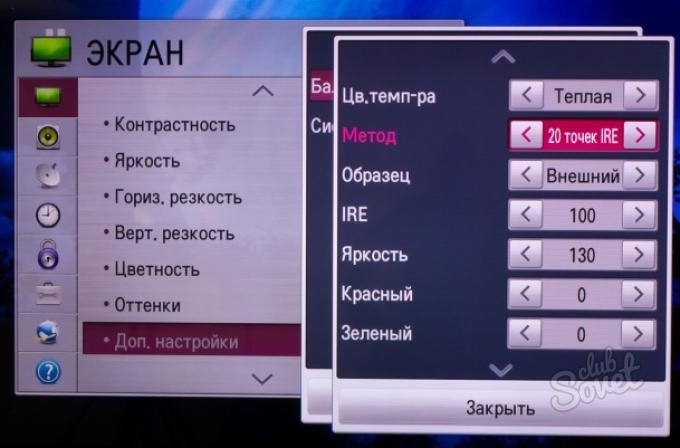 Как сделать на телевизоре картинку на весь экран